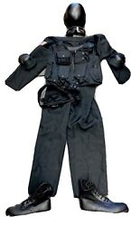 Quality Police Swat Team Movie Prop Uniform Costume Pieces Very Nice Must See