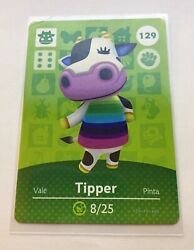 Tipper 129 Animal Crossing Amiibo Card Series 2 Never Scanned New Authentic