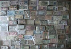 Set 100 Pcs Different World Banknotes Paper Money Currency Collection Grab Bag