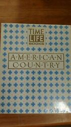 Time Life Books Slip Case Set 3 American Country Kitchen Cooking Home 1989 New
