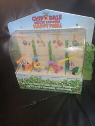 1989 Vintage Mcdonald's Happy Meal Set Of 4 Chip N Dale Rescue Rangers Cars Toys