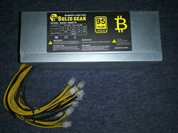 1800w 12v Power Supply For Bitcoin Mining On Antminer L3+ D3+ S9 S7