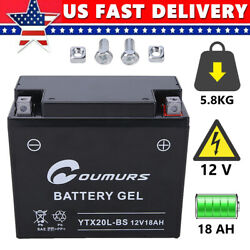 Agm Battery Fit For Harley Fxd Fxdb Fxdc Fxdf Fxdi Fxdl Fxdp Fxds Fxdwg