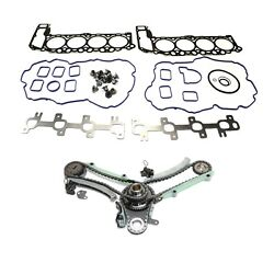 Timing Chain Kit For 2002 Dodge Ram 1500 99-2003 Jeep Grand Cherokee