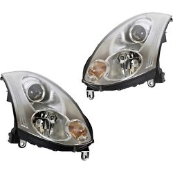 26010cm40c, 26060cm40c New Driver And Passenger Side Hid/xenon Coupe Lh Rh For G35