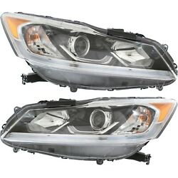 33150t2aa91, 33100t2aa91 Capa Driver And Passenger Side Sedan Lh Rh For Accord 17