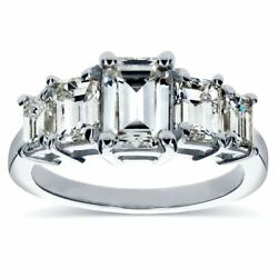 Annello By Kobelli White Gold Moissanite And 1 1/3ct Tdw