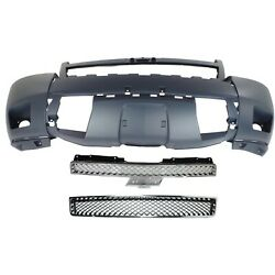 22830012, 25830185, 15835084 New Grille Grill Set Of 3 Front For Chevy Suburban