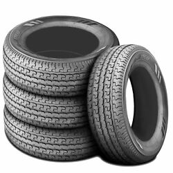 4 Tires Husky Gallant Gl Trail St 205/75r15 Load D 8 Ply Trailer