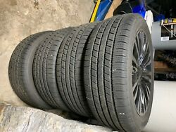Chrysler 200 Rims 18 Black Color Oem Used In Good Condition With New Tires