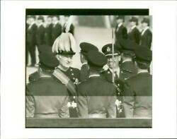 David Wilson Inspecting Immigration Officers. - Vintage Photograph 1617132