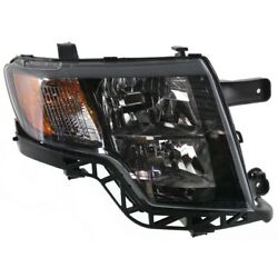 Headlight For 2009-2010 Ford Edge Sport Model Right With Bulb Capa