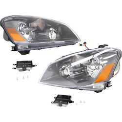 Headlights Hid For 2005-2006 Nissan Altima Pair Left And Right Side W Ballast
