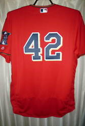 Mlb Minnesota Twins 42 Fill Fuse 45 Jersey Used In Real Use Jackie Robinson Day