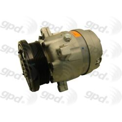 6511364 Gpd New A/c Ac Compressor For Chevy Olds Cutlass With Clutch Grand Prix