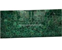 Green Agate Stones Slab/table Top Counter Top Dining Table Precious Moss Agate