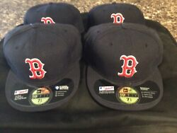 Boston Red Sox 59 fifty Fitted 7 1 2 or 5 8 Mint Official On Field Cap Hat Auth