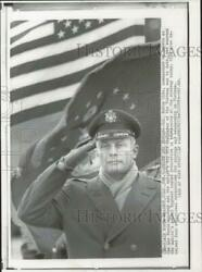 1968 Press Photo Colonel Robin Olds, Commandant, Air Force Academy, Colorado