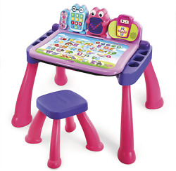 Vtech Touch And Learn Activity Desk Deluxe, Pink