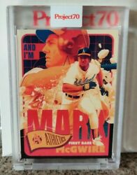 2021 Topps Project 70 Card 179 - 1965 Mark Mcgwire By Matt Taylor