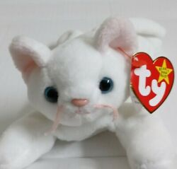 Original Rare Ty Beanie Baby Flip The Cat With Multiple Tag Error's Collectable