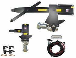 1961 Impala 2dr H-top Front And Rear Power Window Kit W/ Ftfg Switches For Console