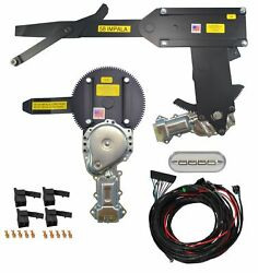 1958 Convertible Front Door And Rear Power Window Kit W Ftfg Switches For Console