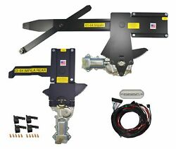1963-1964 Impala Front And Rear Power Window Kit With Ftfg Switches For Console