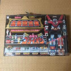 Golion Chogokin Robot Action Figure Vintage Retro Old Toy First Edition Popy