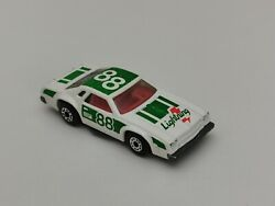 Rare Matchbox Superfast 34 Chevy Pro Stocker In White And Green No.88 /exc/ Loose