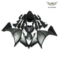 Us Stock Bodywork Injection Mold Grey Fairing Fit For 2012-2014 Yamaha Yzf R1 O0