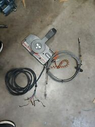 Tohatsu Nissan Boat Remote Control Box Used Good Shift Throttle Cables Loc-c83