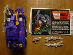 Rare Items Trans Formers Collectorand039s Club Impactor Divider Wars Botcon 60 Sizes