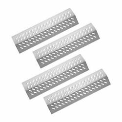 Stainless Steel Grill Heat Plates Shield Burner Cover Flame Tamer, Bbq Gas