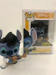 Funko Pop Elvis Stitch 127 Hot Topic Exclusive +with Protector