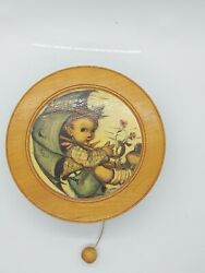 Vtg Reuge Edle Hand Pull Music Box Raindrops Keep Falling On My Head Works Great