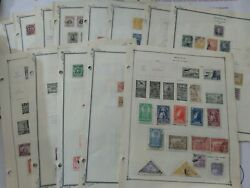 Amazing Bolivia Stamp Collection On Scott Part I Pages - Very Nice Take A Look