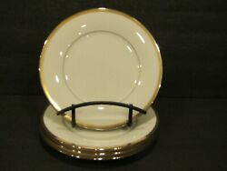 Noritake Fine China Gold And Platinum 7713 Set Of 4 Bread Plate - 6 3/8