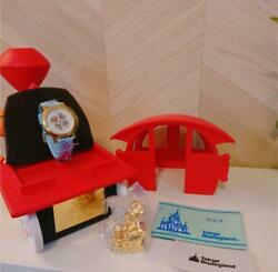 Very Rare Disney Cast Limited Watch Party Express Mickey Mouse Figurine 598/1000