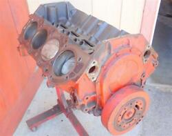 1965 Bbc 396/425hp Engine 3855962 4 Bolt Main Short Block F95 To622ie .030 Over