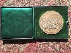 1925 150th Anniversary Battle Of Bunker Hill 3 Brass Coin Very Rare