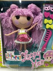 Lalaloopsy Loopy Hair Jewel Sparkles Full Size Doll Brand New