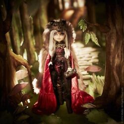 2014 Sdcc Mattel Ever After High Doll Cerise Wolf Monster Nib Comic Con Rare