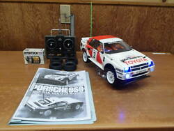 Tamiya 1/12 Toyota Celica Gr.b Rally Special After Being Resstored Uns Run Radio