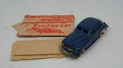 Curio Alps Friction Car Blue Tinplate Occupy Japan 1947 1952 Things At The Time