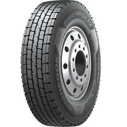 4 New Hankook Smart Flex Dl12 11r22.5 Load G 14 Ply Drive Commercial Tires
