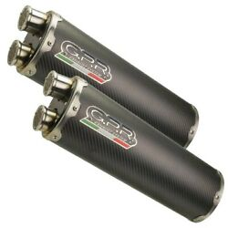 Gpr Exhaust Systems Silencieux Double Slip On Dual Carbone Monster S4 01-03 Hom