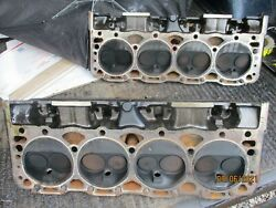 Used Chevrolet Sbc 305 Heads/very Clean Set Gm 14101081 We Upgraded To A 350