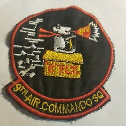 SNOOPY PATCH USAF 9th Air Commando CHEESECLOTH VIETNAM WAR PATCH 80