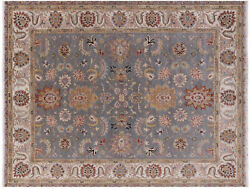 Handmade Traditional Wool Rug 7and039 10 X 9and039 8 - Q9016